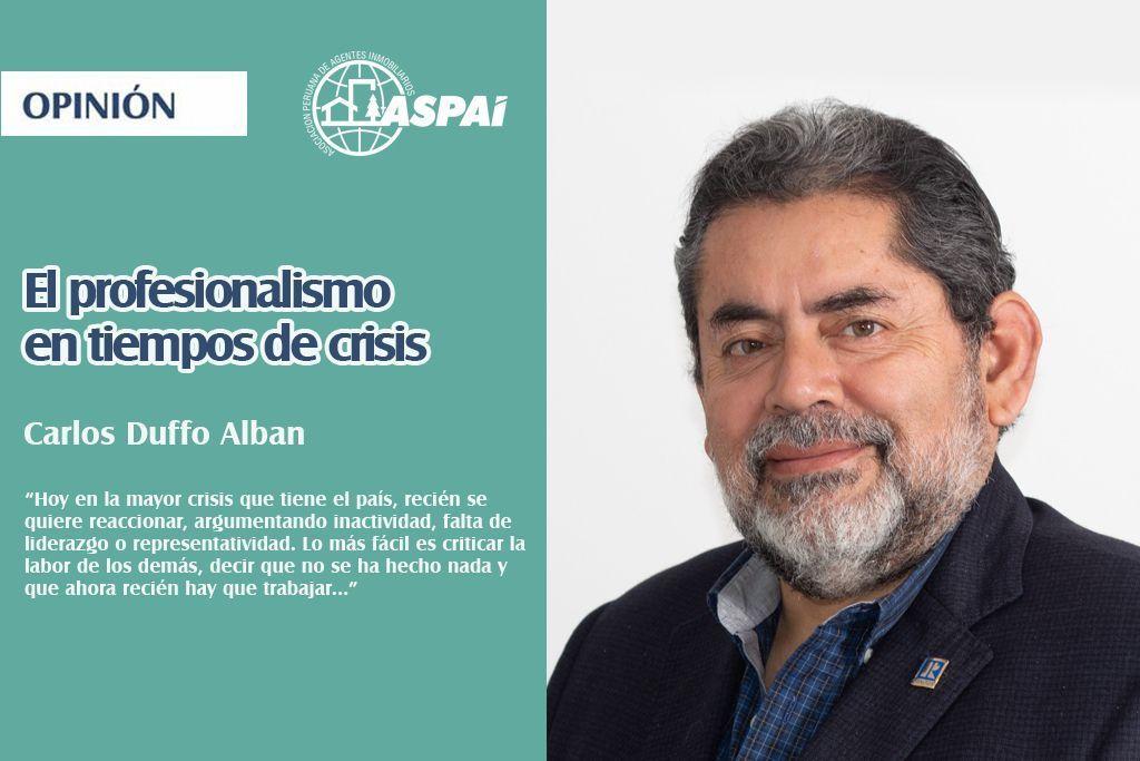El profesionalismo en tiempos de crisis