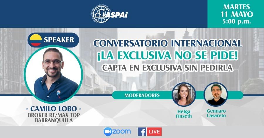 Conversatorio Internacional: La exclusiva no se pide!