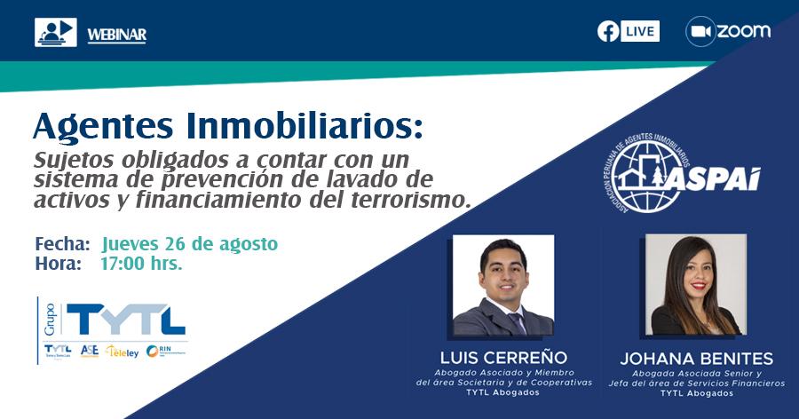Sistema de prevención de lavado de activos y financiamiento del terrorismo.